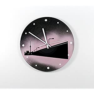 Uhr Wanduhr East Side Galery Schallplattenuhr Vinyluhr