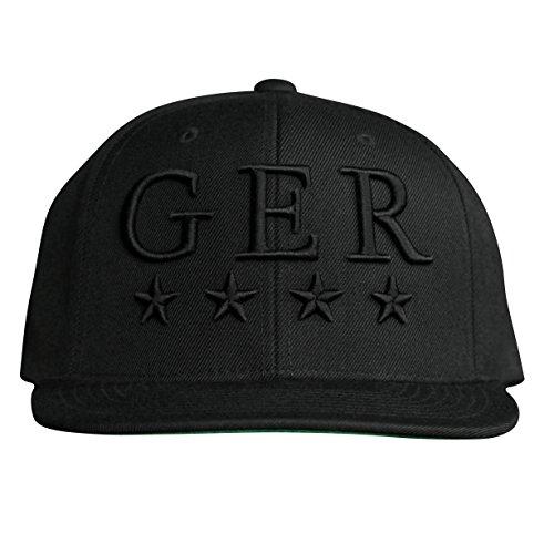 MARQUE NOIRE – GER Snapback - Cap, Baseball Caps, Herren Damen Unisex (Brad Rüstung)