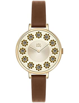 Orla Kiely Damen-Armbanduhr OK2084