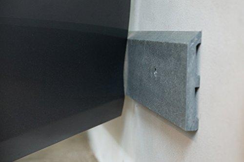 Preisvergleich Produktbild 2 Auto Türschutzleiste 175x20x3 Basaltgrau
