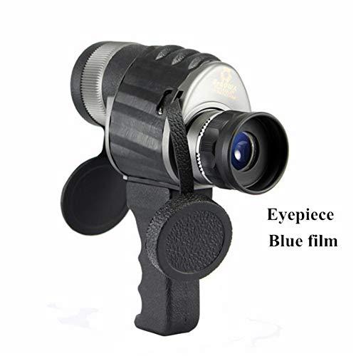 CITW Leistungsstarkes Teleskop, 8X40-Handheld-Monokular, Weitwinkel-Großokular-Fernglas für Campingjagd mit freiem Griff,A - Laser-griff Taschenlampe