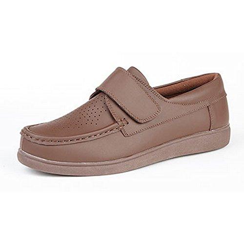 Dek - Chaussures Avec Fermeture Velcro - Unisexe Tan