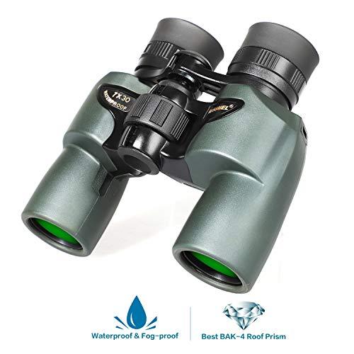 Binoculares 7x30, Binoculares compactos Prueba Agua