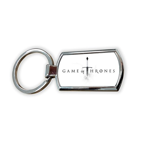 Game of Thrones Fantasy Got Serie TV USA zeigen Schlüsselanhänger Metall Charm Anhänger Schlüssel Ring Schlüsselanhänger Bag Tag Schlüsselanhänger–Sword Army War Shield Waffe House Familie Fashion House-tv-serien