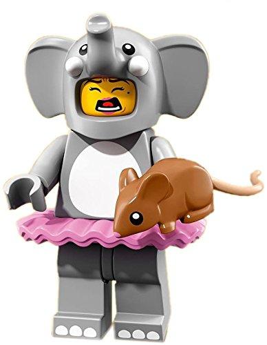 erie 18 Minifigur Figur: Elephant Girl mit GALAXYARMS Saigabel und Katana (Party Stadt Clown Kostüme)