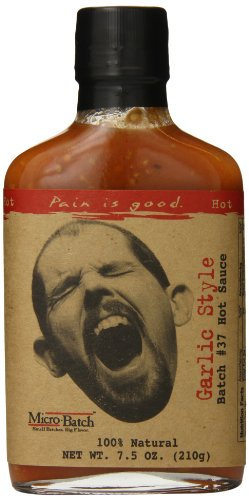 Pain is Good Batch #37 Garlic Style Hot Sauce, 8 Ounce