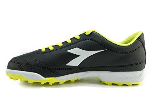 Diadora , Chaussures de Gymnastique mixte adulte C3740 GIALLO/NERO