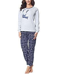 Merry Style Damen Schlafanzug 867