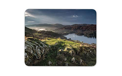 Coniston Water Lakes Mauspad Pad - English Heritage Coast Britain Gift # 16183 -
