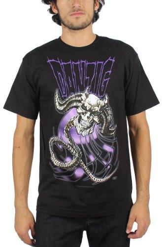 Danzig II Demonio Nera, da uomo, Regular, colore: nero nero Small