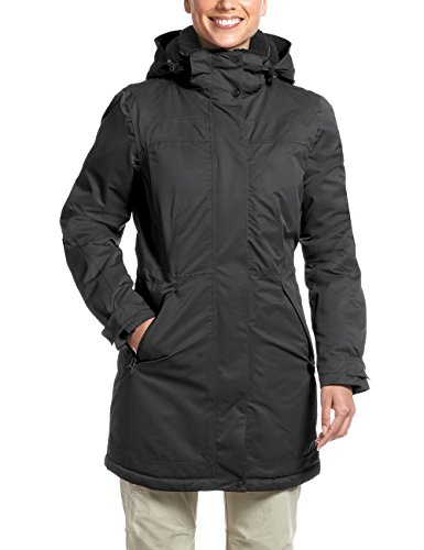 Maier Sports Damen Lisa 2 Mantel, Black, 40