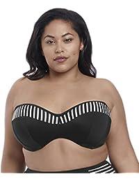 6c7b17c635 Elomi Swim Malibu Days Underwired Bandeau Bikini Top (34G