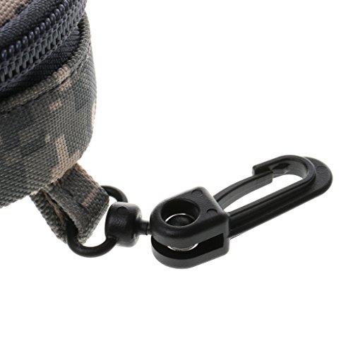 Sharplace Portatile Molle Tattico Sacchetto Militare Marsupio Adatto Per Caccia Viaggio Trekking Accesorio Sportivo - Nero ACU Camo