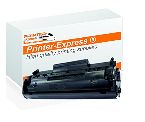 Printer-Express XXL (2.100 Seiten) Toner ersetzt HP Q2612A, 12A, Q2612X, 12X, 2612 für HP LaserJet 1010 1012 1015 1018 1020 1022 3015 3020 3030 3050 3052 3055 Drucker schwarz -