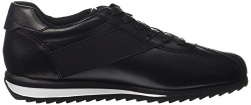 Calvin Klein Chad Nappa Smooth/Elastic, Baskets Homme Noir (Black/black)
