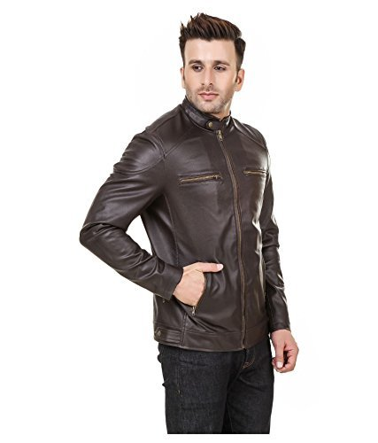 Zacharias Boys Pu Faux Leather Jacket