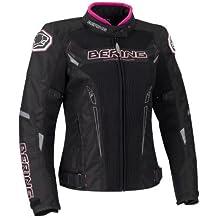 Veste moto cuir femme bering