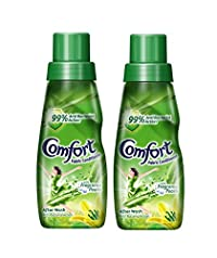 Comfort After Wash Anti Bacterial Fabric Conditioner 220 ml (Pack of 2)