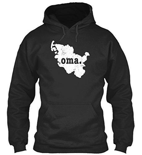 teespring Men's Novelty Slogan Hoodie - Schleswig Holstein Germany Shirt Oma