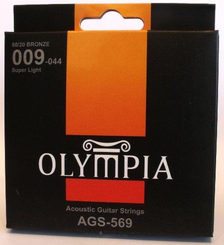 Olympia Qualität akustische Gitarre Saiten 09-44Gauge