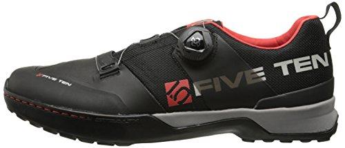 Five-Ten Scarpe da ciclismo Kestrel nero rosso