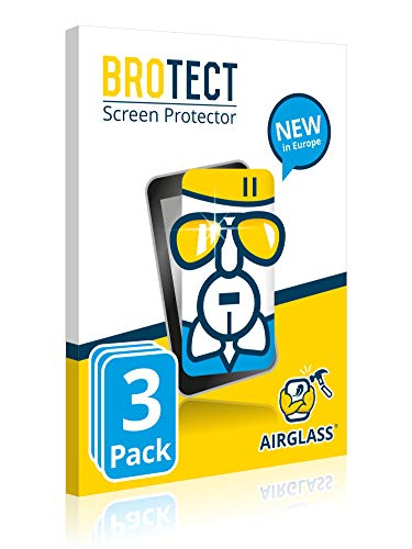BROTECT AirGlass Screen Protector Glass compatible with Unitech WD100 (3  Pack) - 9H