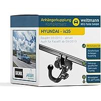 Anhängerkupplung starr Für Hyundai i40 CW Kombi ab 09.2011+E-SATZ 13p SPEZIFISCH