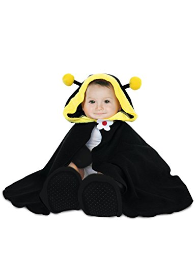 Rubie's Rubies-154682-Kostüm für Babys-Cape, Hut, Handschuhe und Hausschuhe-Biene-Einheitsgröße (Rubies Baby Kostüm)