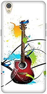 The Racoon Lean printed designer hard back mobile phone case cover for Oppo F1 Plus. (Colours Of)