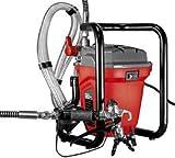 Mauk 2128 Airless Luftlos Hochdruck Wand-und Fasadenfarb-Sprühgerät Sprayer RP8625 220-240V/50HZ, rot