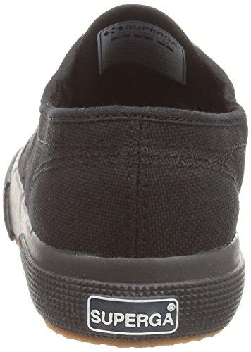Superga 2750-Jcot Classic Scarpe da Ginnastica, Unisex Bambini Nero (Full Black)