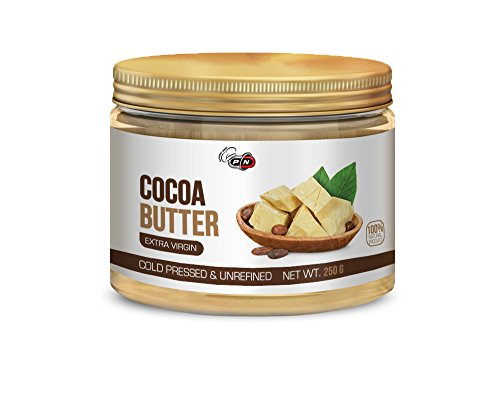 Pure Nutrition Cocoa Butter Cream | Extra Virgin Kakaobutter | Cold Pressed | Unrefined | 250g