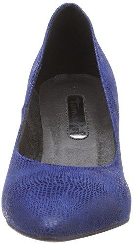 Tamaris - 22450, Pumps da donna Blu (Bleu (royal 838))