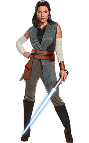 Rubie 's Offizielle Star Wars Die letzten Jedi Rey Damen Erwachsene Kostüm, große UK 14–16