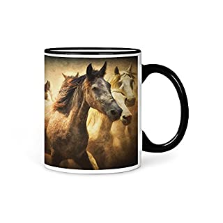 aina Tasse Kaffeetasse Pferd Motiv V2