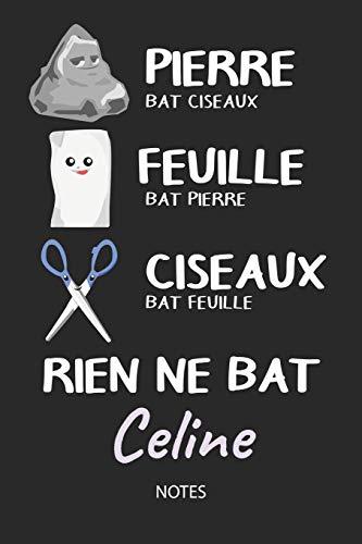 Notes: Noms Personnalisé Carnet de notes / Journal pour les filles et les femmes. Kawaii Pierre Feuille Ciseaux jeu de mots. ... de noël, cadeau original anniversaire femme. ()
