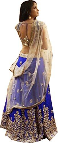 Amit Fashions Indischer Designer Lehenga Choli (Indische Choli Lehenga)