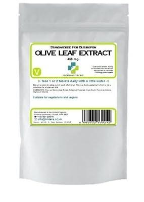 Olive Leaf (27mg oleuropein) /60 Tablets from Lindens