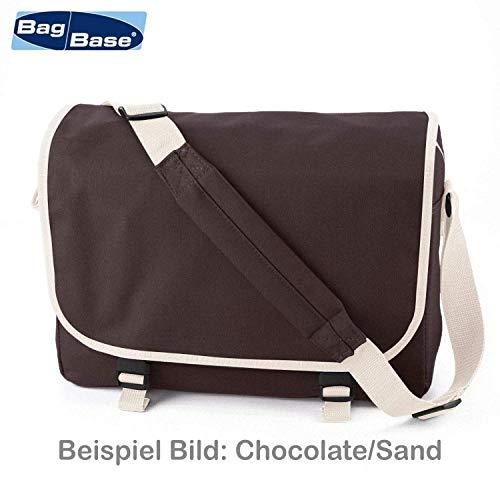 Messenger Bag Schultasche Studententasche Schultertasche – Bin müde, hab hunger mir ist kalt. (Schwarz) - 2