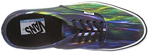 Vans Uomo Authentic Lite Scramble Scarpe Sportive Blu Scuro/Verde