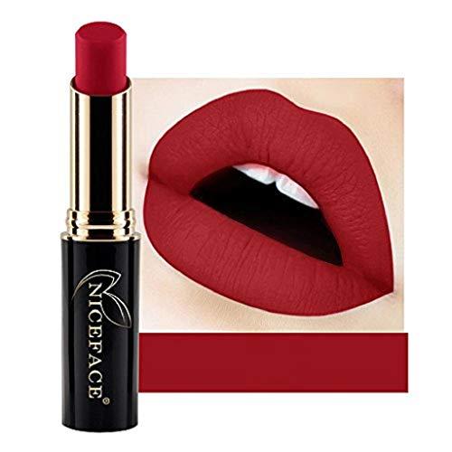 VJGOAL Mode Matter Lippenstift Feuchtigkeitsspendend Lipgloss Wasserdichtes Pigment Nude Long...