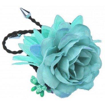 Elastische Blume Türkis Stella Green