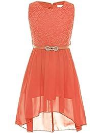 Festliches kleid madchen apricot