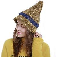 Fexkean Donna Winter Cappello Beanie Cappelli Invernali Berretti in Maglia  cap Misto-Lana Hat per db9c8c279227