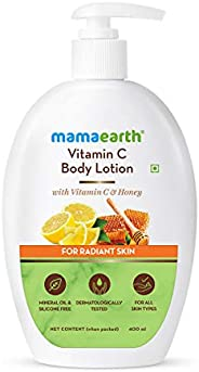 Mamaearth Vitamin C Body Lotion with Vitamin C & Honey for Radiant Skin – 40