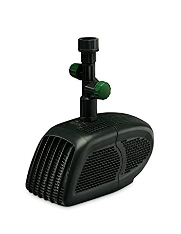 Blagdon Minipond Pump 2000 (Pond Pump to Run a Fountain/Feature, Filter and Waterfall (50 cm High) in a Pond with The Maximum Volume of 1722 L)