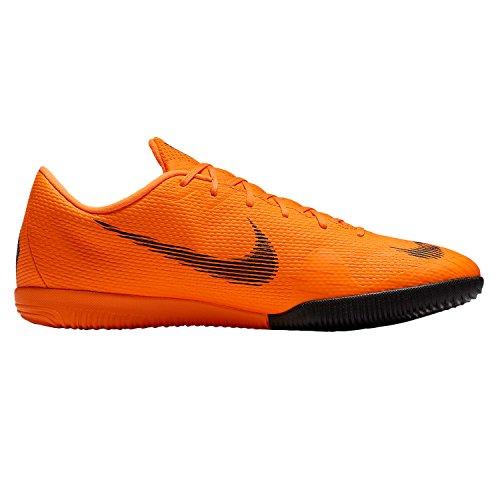 Nike Unisex-Erwachsene Vaporx 12 Academy IC Fußballschuhe, Orange (Orange Total/Vert Volt/Blanc 810), 42.5 - Vapor Nike Fußball