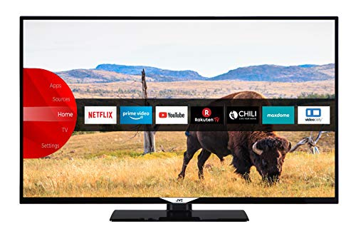 JVC LT-49V55LFA 124 cm (49 Zoll) Fernseher (Full HD, Triple-Tuner, Smart TV, Prime Video, Bluetooth)