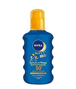 Nivea Sun Kids Moisturising Sun Spray Very High SPF 50+, 200 ml (Blue)