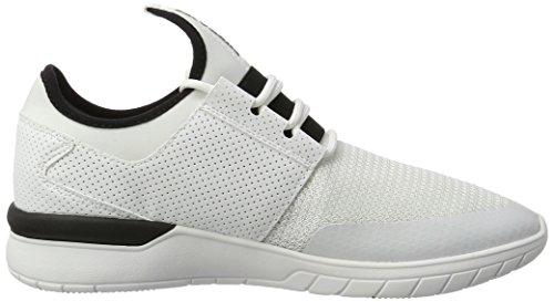 Supra Herren Flow Run Sneaker Weiß (White-White)